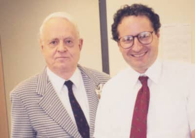 Dr. Moss with Dr. George Springer, MD, Chicago.