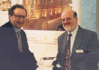 Ralph W. Moss, PhD and Professor Szaz, Founder of Oncothermia