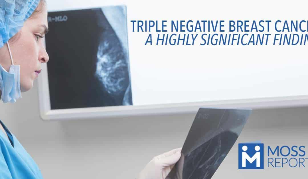 TRIPLE NEGATIVE BREAST CANCER: A HIGHLY SIGNIFICANT FINDING